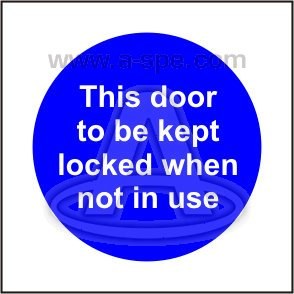 Mandatory Blue Signs